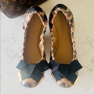 Louis Vuitton Leopard Print Ballerina Flats